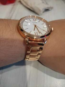 Reloj Guess oro rosa 100% original