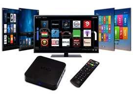 Combo TvBox 4Ram 64gb Control Smart