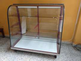 Vitrinas en vidrio templado