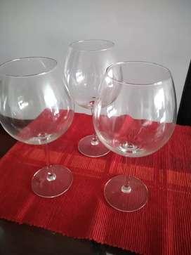 Copas en cristal