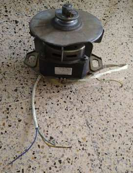 Motor lavadora como nuevo para hacer un ventilador potente