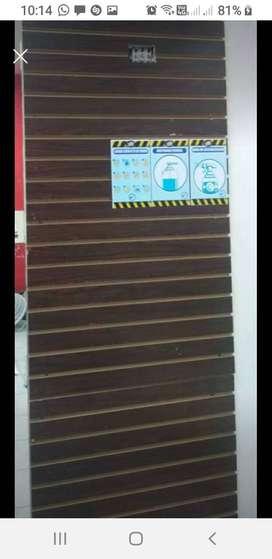 Vendo panel ranurado o tableros ranurados