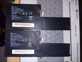 Vendo baterias de netbook g5