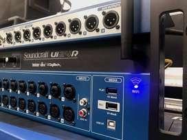 CONSOLA DIGITAL SOUNDCRAFT Ui24R WI FI/ WLAN