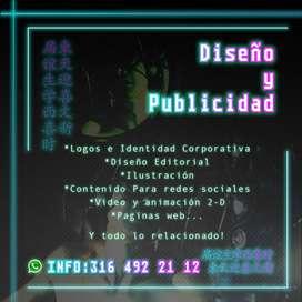 DISEÑO GRÁFICO Y PUBLICIDAD A TU ALCANCE!