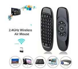 Air Mouse C120 Mini Teclado Inalámbrico Smart Tv