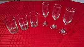 Cristalería para eventos