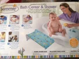 Liquido bañera para bebe con reposera