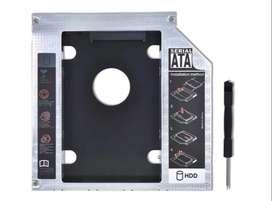 Adaptador Caddy Dvd A Disco Duro 2.5 Hdd Sata 9.5mm