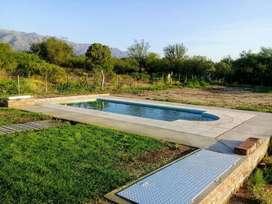 Alquiler de Quincho y Pileta para temporada de verano