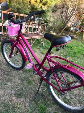 Bicicleta mujer Soria rod 20 nena
