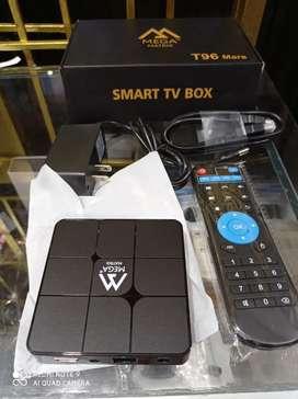 CONVIERTA SU TV EN SMART TV TV BOX nueva versión actalizado incluye Android 9