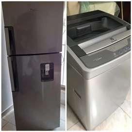 Oferta nevera y lavadora