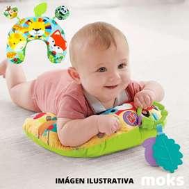 Almohadita didáctica para bebé. Mini gimnasio