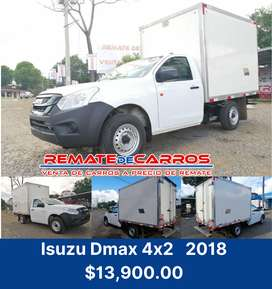 Isuzu Dmax 4x2 2018 manual