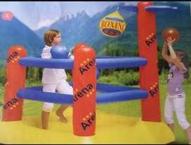 Ring boxeo inflable para niños