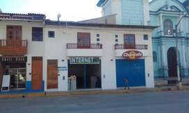 SE ALQUILA LOCAL COMERCIAL EN PLAZA DE ARMAS CELENDIN
