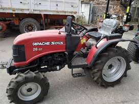 TRACTOR APACHE SOLIS 26 GT 4WD AGRICOLA