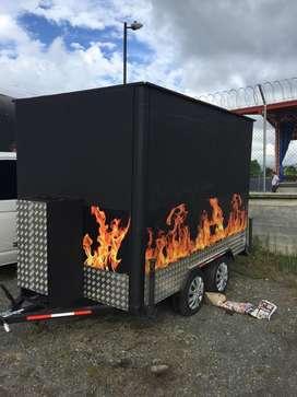 Vendo trailer para comidas