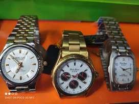 Relojes, billeteras