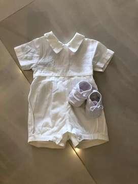 Vestido de Bautizo 9 meses