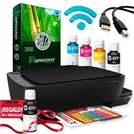Impresora HP Multifuncional 410 Tinta Continua Wifi