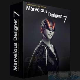 Marvelous Designer 7 Enterprise Modas Para Personajes de Animación