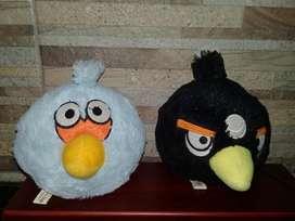 vendo muñecos de peluche Angry Birds con sonido