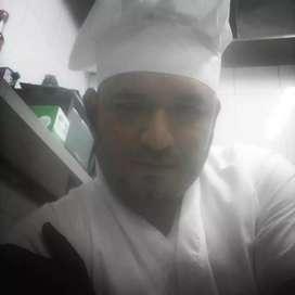 Ofrezco mis servicios como cocinero para algun restaurante