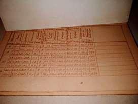 Libro YPF Plano  construcion de Torres  1941--grafico Y Medidas