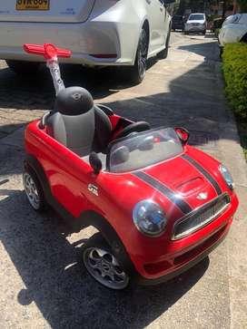 Carro montable Mini cooper s rojo