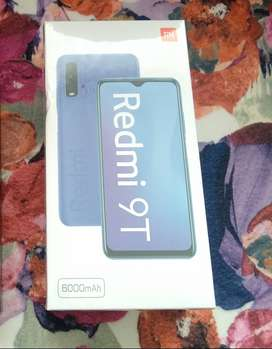 Nuevo!!! Xiaomi Redmi 9t Twilight Blue 6gb Ram 128gb Rom Sellado + Mi Band 5