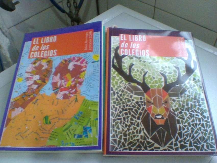 Lote x 2 Libros de Los Colegios 2018/2019 S.Iturriaga. Nuevo!