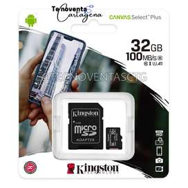 Memoria micro sd 32 GB MARCA kingston clase 10 A1