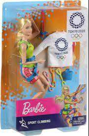 Barbie Olimpiadas Tokyo 2020 Mattel Gjl73 Deportes