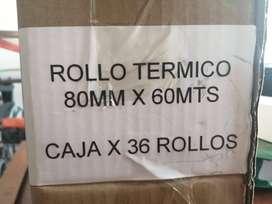 Rollos Térmicos Para Impresoras Pos 80mm