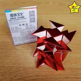 Cubo ADN Windmill Twist DNA Metalico Cubo Rubik 3x3 Moyu