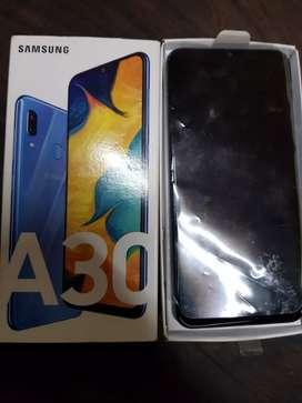 Samsung a30 impecable en caja..libre...