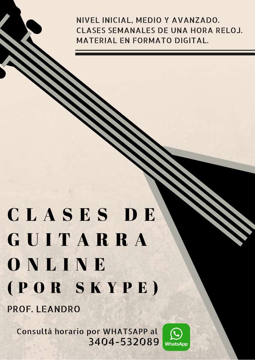 Clases de Guitarra por WebCam (vía Skype) 0