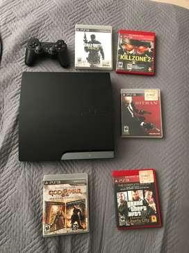 Playstation 3 +  juegos originales + controles nuevo