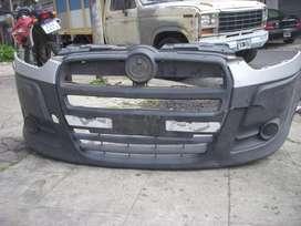 repuesto fiat doblo, paragolpe original delantero, detalle reparable