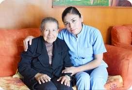 Enfermera Tecnico Cuidado Adulto Mayor Geriatrica Medicos  Atencion Servicio Niñera limpieza Vigilancia domestico cocina
