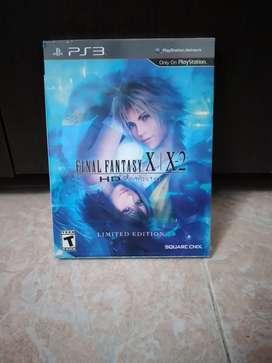 Final Fantasy X - X2 HD HD remaster limited edition nuevo PS3