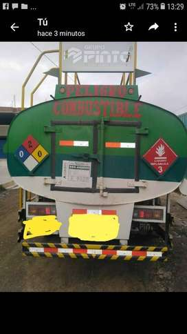 Venta de tanque de cisterna de combustible