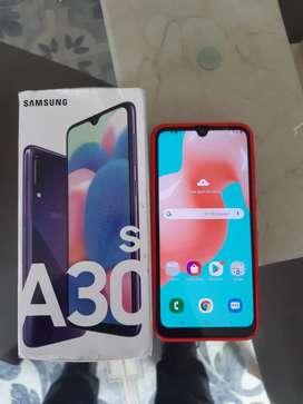Vendo Samsung A30S en Caja con sus accesorios