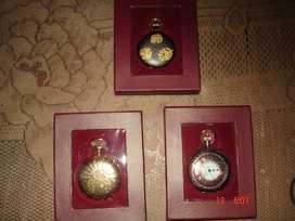 Vendo Tres Relojes Antiguos de Bolsillo
