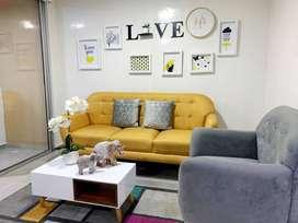 Espectacular apartamento amoblado con AA