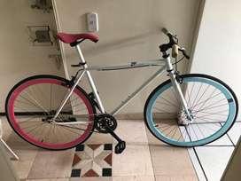 Vendo Bicicleta Fixie Como Nueva
