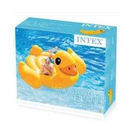 Flotador Inflable Intex Pato Grande Para 2 Personas