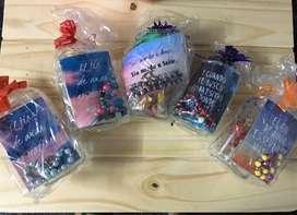 Hermosos frascos decorados
